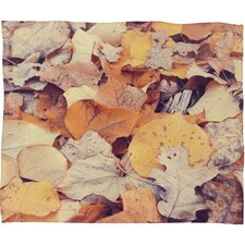Bree Madden Fallen Leaves Throw Blanket
