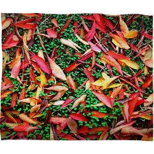 Krista Glavich Fall Pattern Throw Blanket