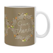 Lisa Argyropoulos Giving Thanks Coffee Mug