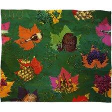 Belle 13 Celebrating Autumn Pattern Throw Blanket