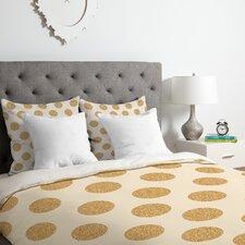 Allyson Johnson Gold Dots Duvet Set