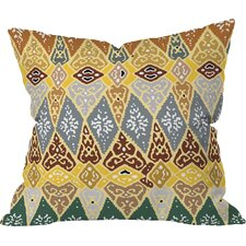 Romi Vega Diamond Tile Indoor/Outdoor Throw Pillow
