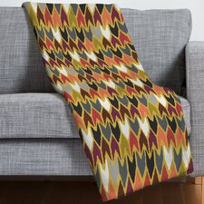 Sharon Turner Saffron Pepper Throw Blanket