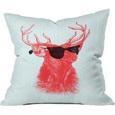 Nick Nelson Young Buck Indoor/Outdoor Throw Pillow