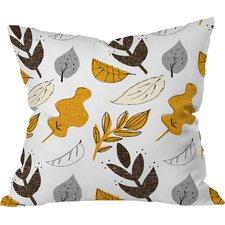 Mummysam Fall Leaves Throw Pillow