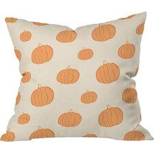 Allyson Johnson Pumpkins Throw Pillow
