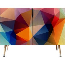 Three of the Possessed Modern Bloom Credenza