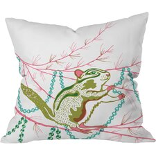 Betsy Olmsted Holiday Chipmunk Throw Pillow
