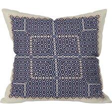Ballack Art House Greece Throw Pillow