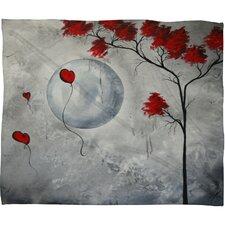 Madart Inc. Far Side Of The Moon Throw Blanket