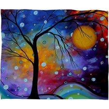 Madart Inc. Winter Sparkle Throw Blanket