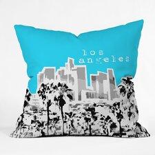 Bird Ave Los Angeles Indoor/Outdoor Throw Pillow