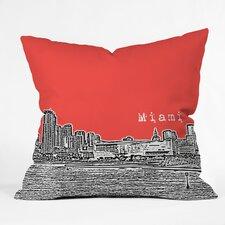 Bird Ave Miami Indoor/Outdoor Throw Pillow