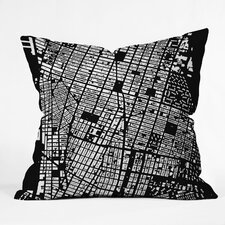CityFabric Inc NYC Indoor/Outdoor Throw Pillow