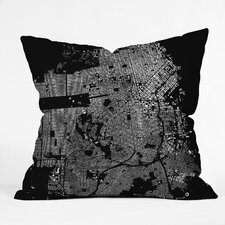 CityFabric Inc San Francisco Indoor/Outdoor Throw Pillow