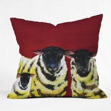 Clara Nilles Spongecake Sheep Throw Pillow