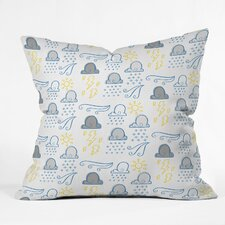 Jennifer Denty Clouds Throw Pillow