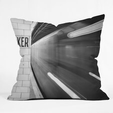 Leonidas Oxby the Subway Indoor/Outdoor Throw Pillow