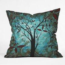 Madart Inc Romantic Evening Throw Pillow