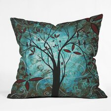 Madart Inc Romantic Evening Throw Pillow