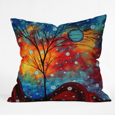 Madart Inc Summer Snow Throw Pillow