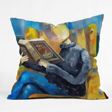 Robin Faye Gates at the End of the Fork Throw Pillow