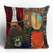 Robin Faye Gates Throw Pillow