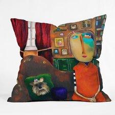 Robin Faye Gates Throw Pillow