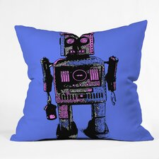 Romi Vega Lantern Robot Indoor/Outdoor Throw Pillow