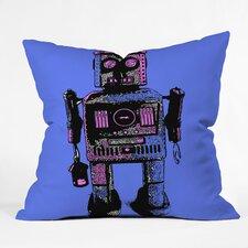 Romi Vega Lantern Robot Throw Pillow