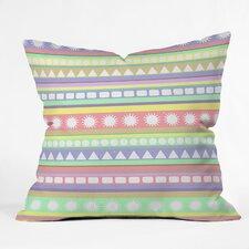 Romi Vega Pastel Pattern Throw Pillow