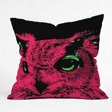 Romi Vega Owl Indoor/Outdoor Throw Pillow