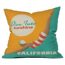 Anderson Design Group Dive California Throw Pillow