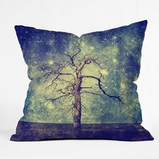Belle13 As Old as Time Woven Throw Pillow