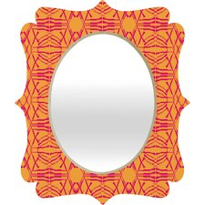 Pattern State Shotgirl Tang Quatrefoil Mirror