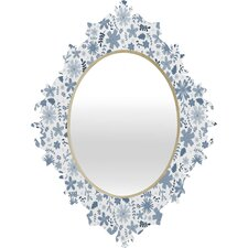Jennifer Denty Genevieve Florals Wall Mirror