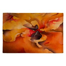 Brian Wall Fine Art Morning Glory Area Rug