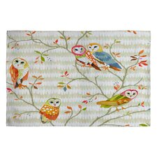 Betsy Olmsted Owl Tree 2 Novelty Rug