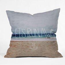 Leah Flores Lets Run Away Iii Indoor/Outdoor Throw Pillow