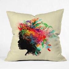 Budi Kwan Wildchild Indoor/Outdoor Throw Pillow