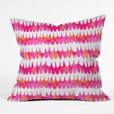 Betsy Olmsted Owl Feather Indoor/Outdoor Throw Pillow