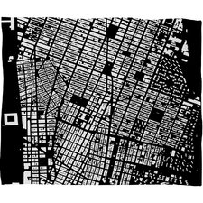 CityFabric Inc NYC Throw Blanket