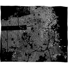 CityFabric Inc San Francisco Throw Blanket
