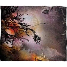 Iveta Abolina Purple Rain Throw Blanket