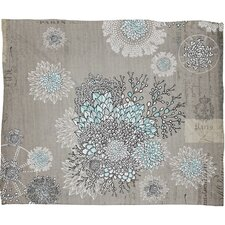 Iveta Abolina French Blue Throw Blanket