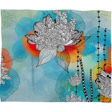 Iveta Abolina Coral Throw Blanket