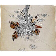 Iveta Abolina Floral 2 Throw Blanket