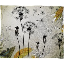 Iveta Abolina Little Dandelion Throw Blanket