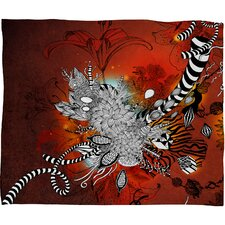 Iveta Abolina Wild Lilly Throw Blanket