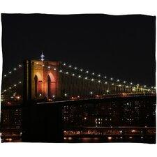 Leonidas Oxby Brooklyn Bridge 2 Throw Blanket